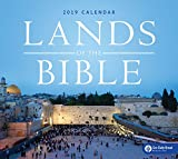 Lands of the Bible Wall Calendar 2019