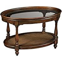 Hekman Furniture 23201 Oval Coffee Table, Just Right