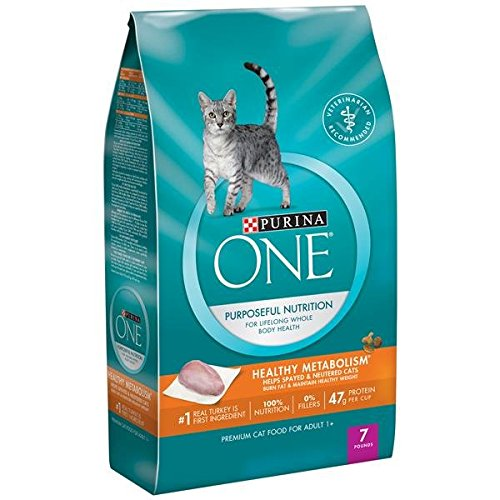 Purina ONE Healthy Metabolism Adult Premium Cat Food 7 lb. B