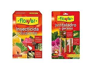 Lote Insectida Polivalente 50ml + Anti taladro del geraneo 3 ampollas