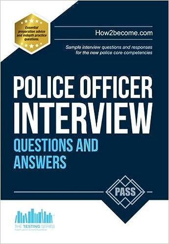 Gun control interview questions?