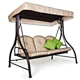 Garden Winds OPEN BOX SAND-D 2010 Swing Replacement Canopy Review