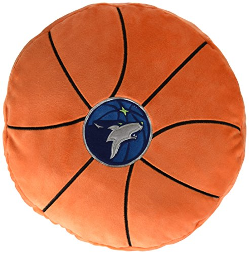 Pillow Northwest Nba (The Northwest Company NBA Minnesota Timberwolves 3D Sports Pillow, One Size, Multicolor)
