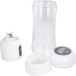 【2021 New Year ????????????????????????????????????】 Juice Extractor, Mini Household Durable Electric Juicer, for Home(White)
