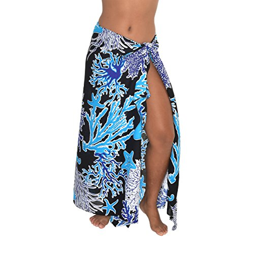 casualmovements Starfish Coral Sarong Swimsuit Coverup Pareo BeachWrap Scarf Shawl Stall ()