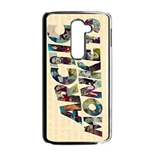 Protection Cover LG G2 Black Phone Case Vqdag Arctic Monkeys Personalized Durable Cases