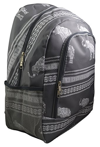 Full Sized Canvas Backpack - 4