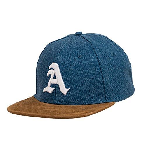 béisbol de estilo J Snapback a letra gótico y con Gorra 3D de Multicolor tela logo en con diseño ante tq6wEH6
