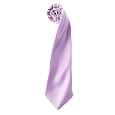 Label - Bata de corbata y pañuelo (satén), color lila: Amazon.es ...