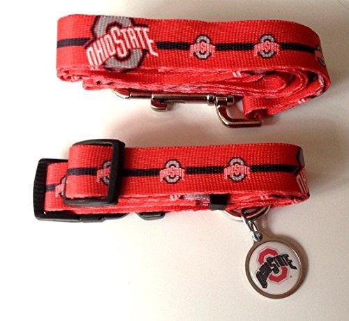 Hunter Ohio State University Pet Combo Set (Collar, Lead, ID Tag), X-Small