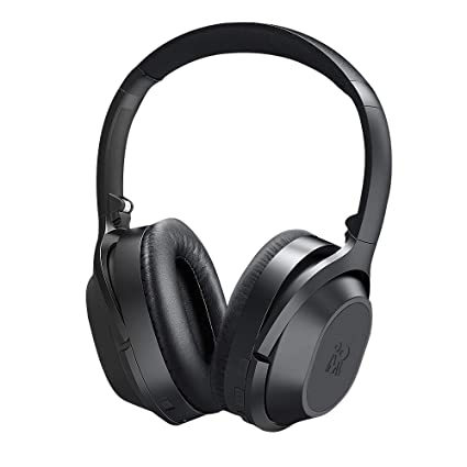 515e59f36ff Mijiaer Active Noise Cancelling Headphones Bluetooth Headphones Wireless  Headphones Over Ear with Mic, Stereo ANC