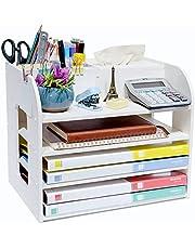 $36 » White Office Desk Organizer and Accessories