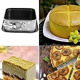Flexible Buckle Detachable Bottom Round Cake Mold Non-stick DIY Baking Pan Tool