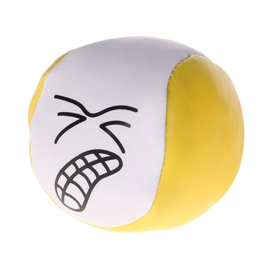 TwJim PU Juggling Balls Cute Cartoon Look Magic Prop Throwing Toys Children Kids Gifts