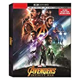 Marvel Avengers: Infinity War Limited Edition (4K UHD+Blu-Ray+Digital) with exclusive 40-page Gallery Book