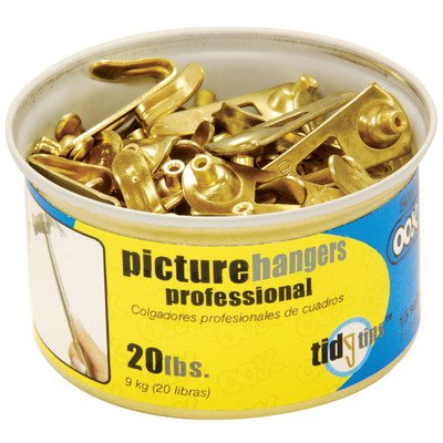Ook 50673 20# Professional Picture Hooks In Tidy Tin 15 Count ()