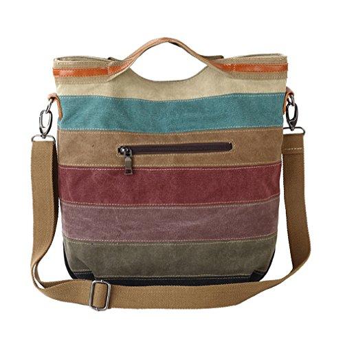Women's Bag color a Shoulder Canvas Tote Multi c Freemaster color multi color Hobos Handbag Multi tYxFdtPw