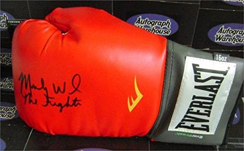 Micky Ward autographed boxing glove inscribed The Fighter (Boxer Mickey Ward) Thin Model Glove - Autographed Boxing Gloves from Sports Memorabilia