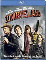 Nerdy college student Columbus (Jesse Eisenberg) has survived the plague that has turned mankind into flesh-devouring zombies because he's scared of just about everything. Gun-toting, Twinkie-loving Tallahassee (Woody Harrelson) has no fears....