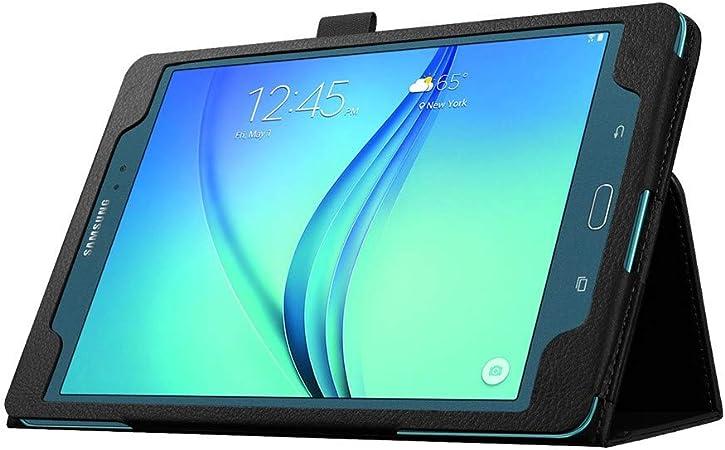 Funda protectora de cuero para Samsung Galaxy Tab A 9.7 pulgadas T550