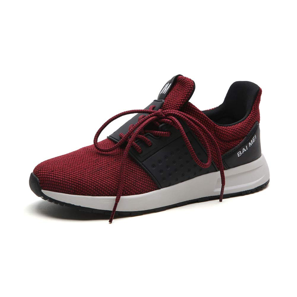 FHTD Herrenschuhe Jogging Fitness Wearable Schuhe Mikrofaser Frühling Herbst Stilvolle Wilde Turnschuhe Persönlichkeit Fußball Schuhe Training Schuhe