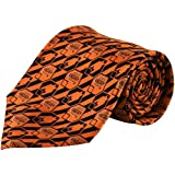 NCAA Oklahoma State Cowboys Nexus Tie - Orange/Black