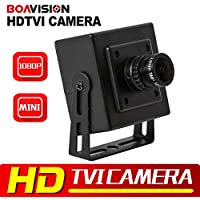 New Arrival 1/3 CMOS 2MP HD CCTV TVI Camera Mini Size 0.01 Lux 2.8mm Lens 1080P HD-TVI Camera