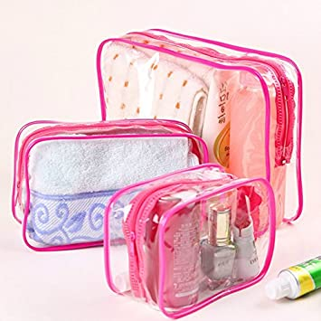 7490f4772fc2 Amazon.com   Clear Toiletry Bag