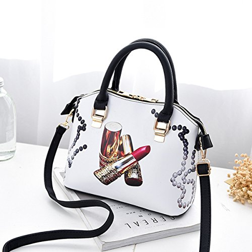 body Lady for Cross Girls Casual Shoulder OULII Design Bag Satchel Handbag Tote Lipstick PU wa4IZfvq