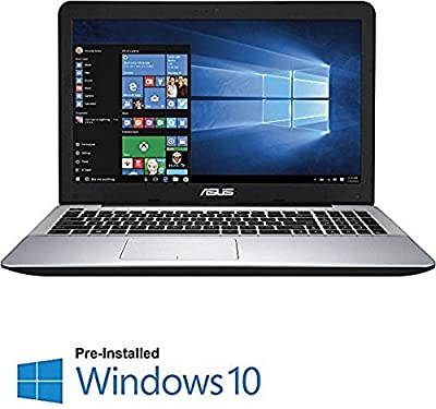 "2016 Newest ASUS 15.6"" 1920 x 1080 Full HD LED Flagship Premium High Performance Laptop, Intel Core i7-5500U 2.4GHz, 8GB RAM, 1TB HDD, DVD-SuperMulti Drive, HDMI, VGA, Webcam, WIFI, Windows 10, Black"