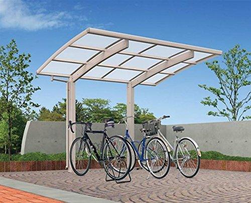 キロスタイル サイクルポート ポリカ屋根 29-21 自転車置き場 (屋根の色選べます) CCY (HC)R2921V-2 『サビに強いアルミ製 家庭用 自転車置き場 屋根』  ブラック(B7) B00GQRNE6I 本体カラー:ブラック(B7) 本体カラー:ブラック(B7)