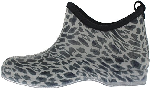 Glitter Ivory York Short Ladies New On Print Capelli Slip Boot Allover Rain OvF5I