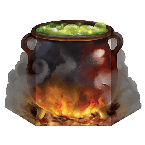 Witch's Cauldron Stand-Up Party Accessory (1 count) (1/Pkg)]()