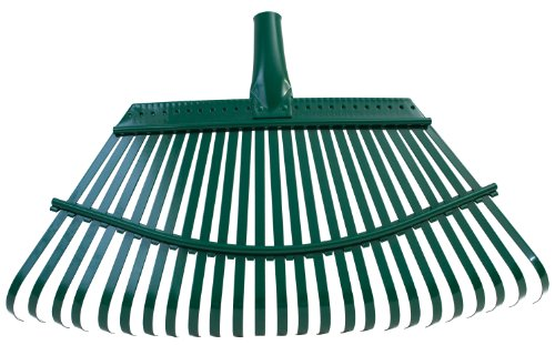 Flexrake 1F Flex-Steel Lawn Rake Head - Rake Steel
