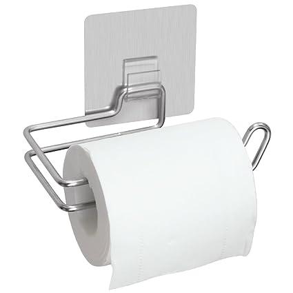 rovtop soporte para papel higiénico, acabado satinado cromo pulido acero inoxidable baño cocina toalla de