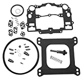 KIPA Carburetor Rebuild Kit For EDELBROCK # 1477 1400 1404 1405 1406 1407 1409 1411 Fits all Automotive 500 600 650 700 750 & 800 CFM Weber Marine carburetor Mercruiser kit # 809064 Carter 9000 series