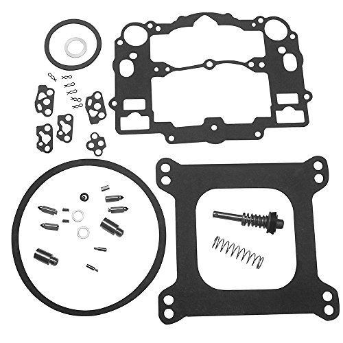KIPA Carburetor Rebuild Kit For EDELBROCK # 1477 1400 1404 1405 1406 1407 1409 1411 Fits all Automotive 500 600 650 700 750 & 800 CFM Weber Marine carburetor Mercruiser kit # 809064 Carter 9000 series (Edelbrock Carburetor Rebuild Kit)