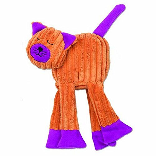 pet-rageous-floprageous-celia-the-cat-toy-6-inch-length-orange-purple