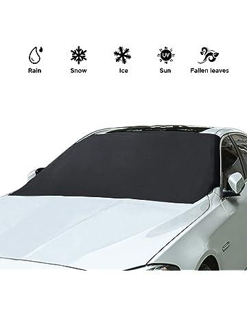 K-Bright Copriauto,147 x 100cm Visiera riflettente per il calore pieghevole frontale dellauto per lestate//Ghiaccio e protezione della neve