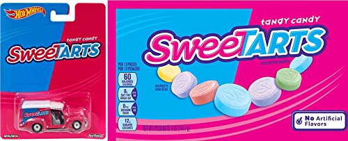 SweeTarts Fun Set Candy Hot Wheels Car & Delicious candies that taste like Pixy Stix!
