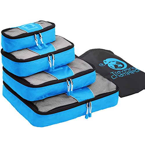 chameleon-packing-cubes-for-travel-set-of-4-mesh-luggage-organizers-with-shoe-bag-blue