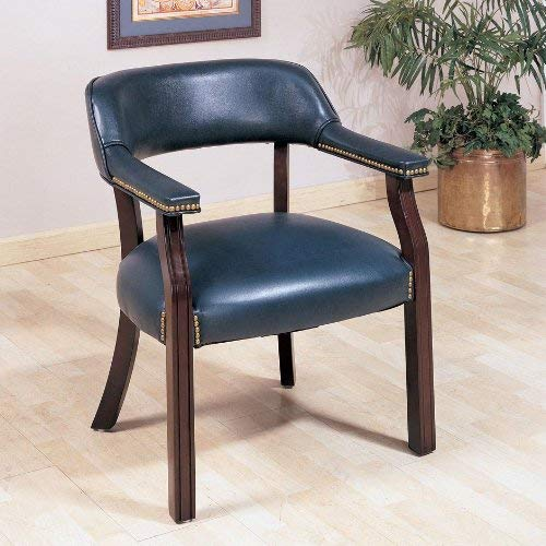 - Coaster Home Furnishings Upholstered Guest Chair Blue