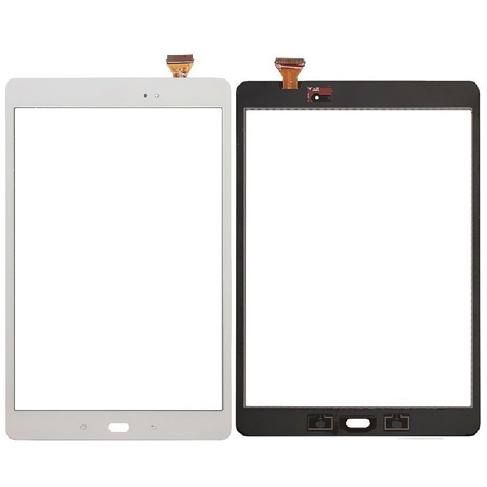 Touch Screen Digitizer Replacement for Samsung Galaxy Tab A 9.7'' SM-T550 with Adhesive (White)