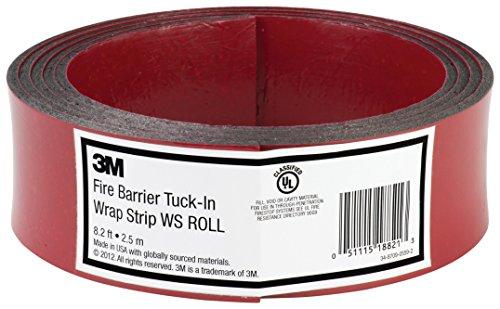 3M Fire Barrier Tuck-In Wrap Strip WS ROLL, 8.2 ft ()