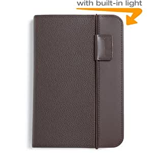 Kindle Lighted Leather Cover, Chocolate Brown (Fits Kindle Keyboard)
