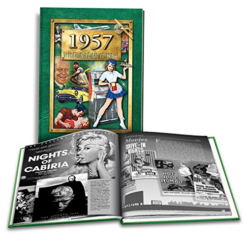 1957 What a Year it Was: 61st Birthday or Anniversary 2nd Edition, 2016 Coffee Table Book