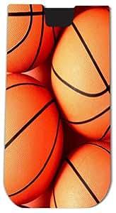 Rikki KnightTM Basketball Design - Smart Phone Neoprene Protective Pouch for iPhone 4/4s/5/5s/5c, Motorola Moto X, Galaxy S3/S4/Note 3/Ace 2, LG Optimus Gpro/G2/L3/4X HD, Sony Xperia Z1S/U, HTC Droid/One/One X/Pro/mini, Blackberry G10/Z10, Nexus 4/5, Andro