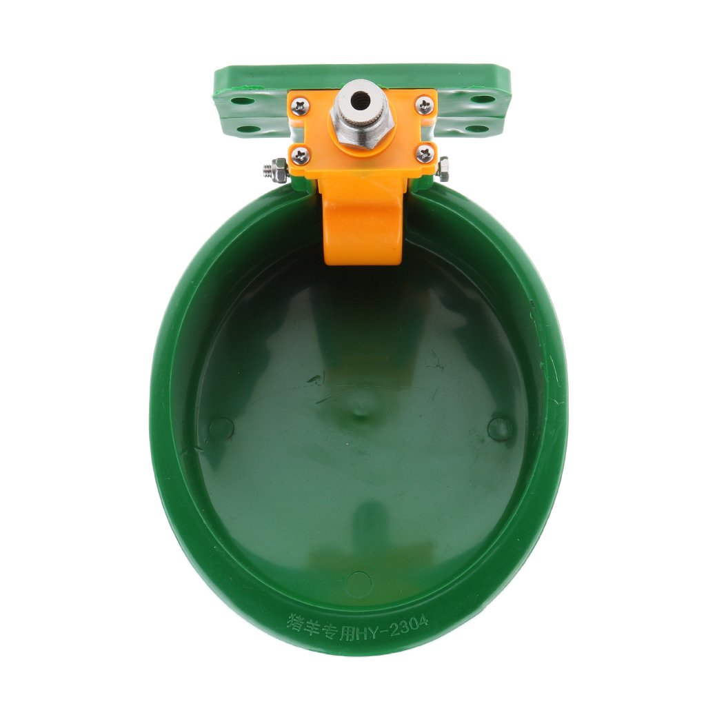 Homyl 8.6-Inch Water Drinker Fountain Pet Dogs Cats Puppy Faucet Feeder -Green