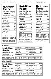 RxBar Protein Bar 12 Pack - Minimal Ingredients That Are All 100% Real Food w/ No Processed Fillers (Variety)
