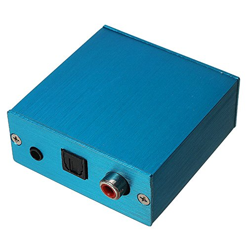 PCM2704 USB DAC USB to S/PDIF Sound Card Decoder Board With Aluminum Box For Computer - Arduino Compatible SCM & DIY Kits
